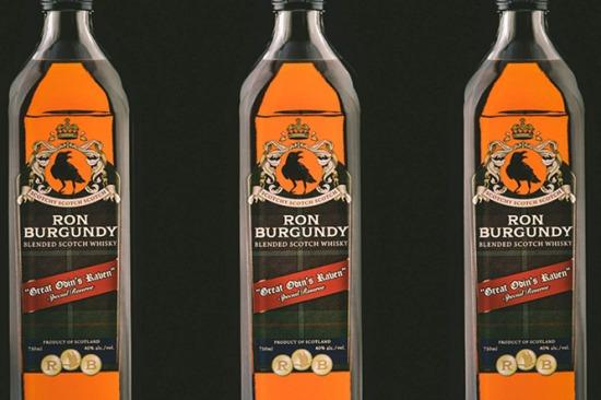 Ron Burgundy Scotch - az esetek hatvan százalékában mindig finom